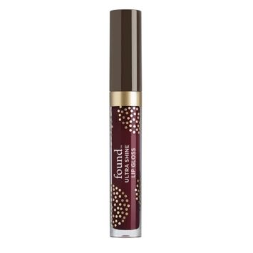 Hatchbeauty Products FOUND Lip Ultra Shine Lip Gloss with Avocado Extract, 350 Boysenberry, 0.13 Fl Oz