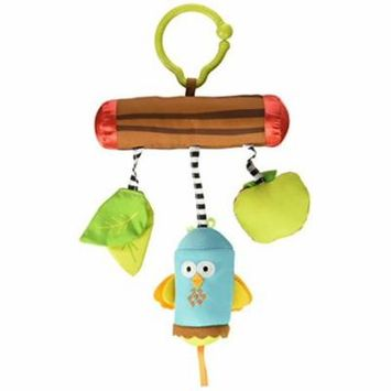 Tiny Love Wind Chimes Clip on Toy, Woodland