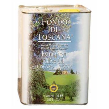 Fondo di Toscana Extra Virgin Tuscan Olive Oil, 101 Ounce