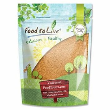 Food To Live ® Yellow Mustard Seeds (2.5 Pounds)
