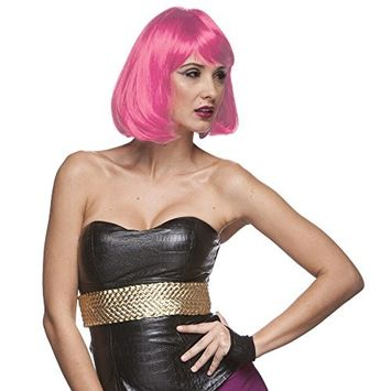 Party Page Synthetic Wig By Sepia Hot Pink
