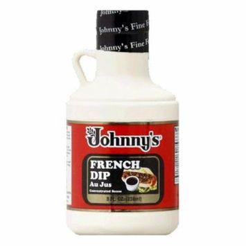 Johnny Fine Foods French Dip Concentrate, 8 OZ (Pack of 6)