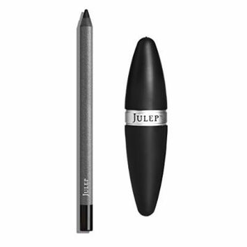 Julep Long-Lasting Waterproof Gel Eyeliner Pencil + Sharpener Set, Blackest Black