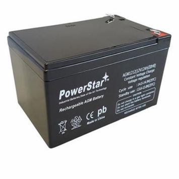 PowerStar AGM1212-551 Replacement Battery for Razor 131E Electric Scooters