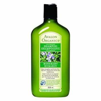 Avalon 0936682 Organics Volumizing Rosemary Shampo, 11 fl oz