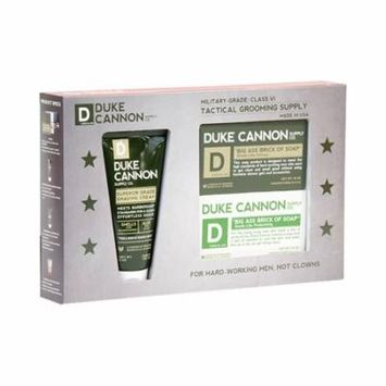 Duke Cannon Tactical Grooming Supply : The Shower + Shave Gift Set