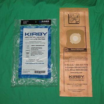 Genuine Kirby Generation 4 & 5 G4/5 Micron Magic Vac Bags OEM 197294S 197394A [81 Bags]