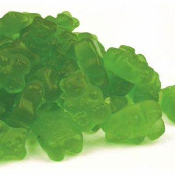 Gummi Bears Granny Smith Green Apple 2 pounds bulk gummi candy