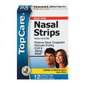 Top Care Tan Nasal Strips (Case of 3)