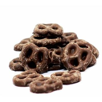 Gourmet Chocolate Covered Pretzels by Its Delish (Milk Chocolate, 2 lbs)