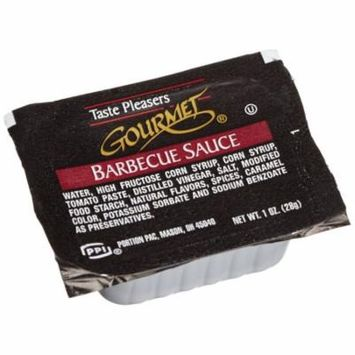 100 PACKS : Taste Pleasers Gourmet Barbecue Sauce,1-Ounce Cups