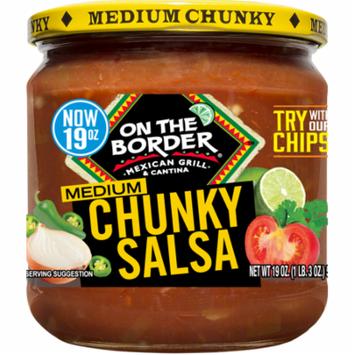 On The Border Medium Chunky Salsa, 19 oz