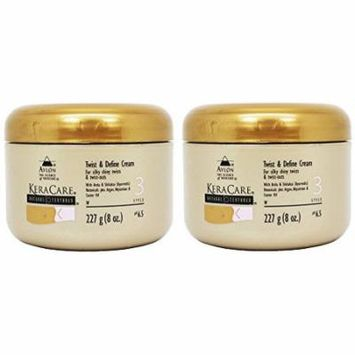 Avlon Keracare Natural Textures Twist and Define Cream, Set of Two (8 Oz Each)