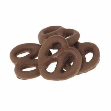 Gourmet Chocolate Covered Pretzels by Its Delish (Dark Chocolate, 1 lb)