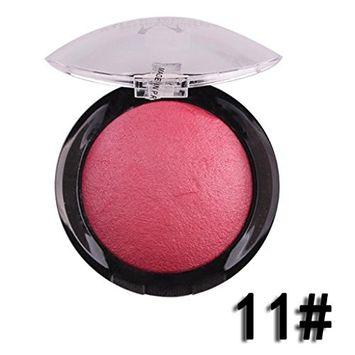 DZT1968 Women Professional high-end practical Cosmetic Contour Face Powder Makeup Blush Blusher Palette