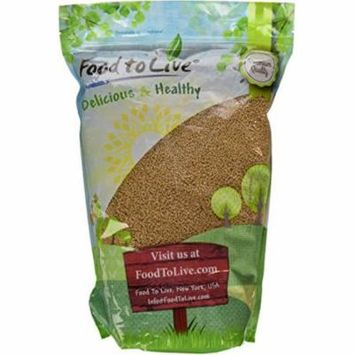 Food To Live ® Yellow Mustard Seeds (5 Pounds) Bulk
