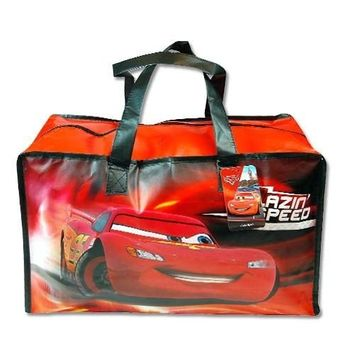 Disney Cars 2 Mcqueen Large Non-woven Gym Bag W/matte Printing