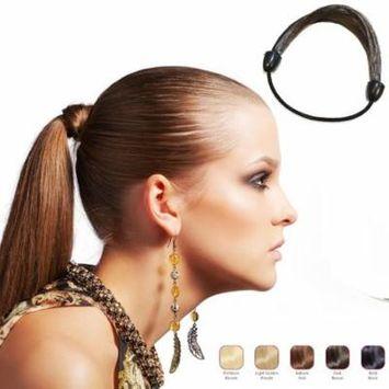 Buy 2 Hollywood Hair Elastic Hair Tie and get 1 Free - Dark Brown