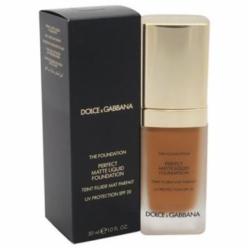 Perfect Matte Liquid Foundation SPF 20 - # 160 Soft Tan by Dolce & Gabbana for Women - 1 oz Foundation