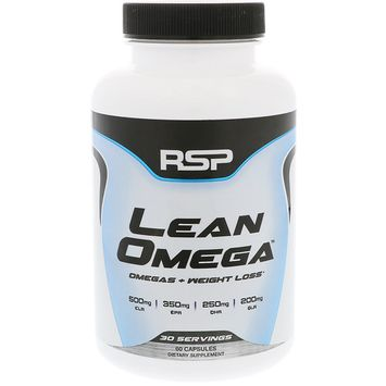 RSP Nutrition, Lean Omega, Omegas + Weight Loss, 60 Softgels