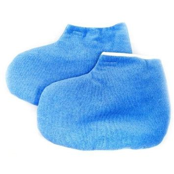 Paraffin Wax Protection Foot Gloves - Blue/Pink CODE: #394BU