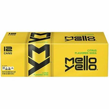 Mello Yello Soda Citrus, 12oz Can (Pack of 12, Total of 144 Oz)