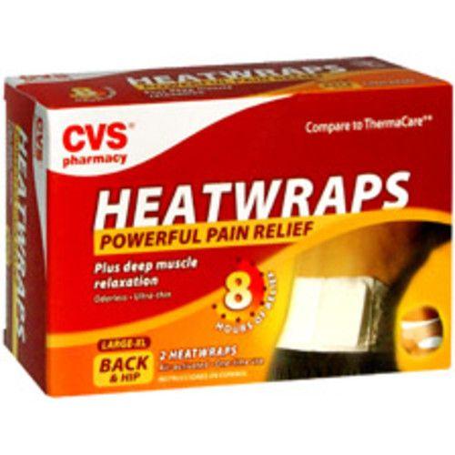 CVS/pharmacy CVS Health Heatwraps Back & Hip, Large/X-Large