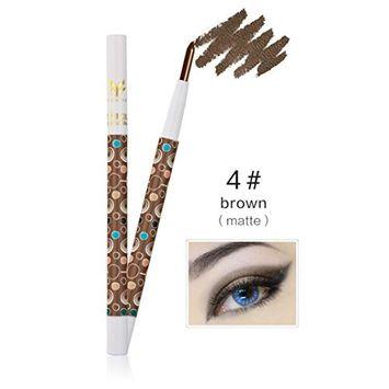 Hunputa Cosmetics Makeup Powder Shimmer Smoky Eyeshadow Pencil Waterproof Eyeliner