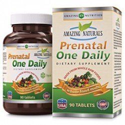 Amazing Naturals PRENATAL ONE DAILY Multivitamin - 90 Tablets