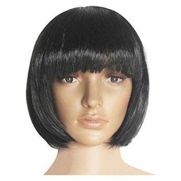 Binmer(TM) Anime Fashion Short Wig Cosplay Party Straight Wig