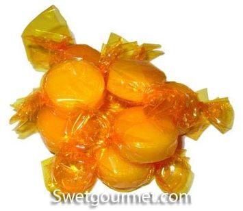 Dorval Butterscotch Buttons Hard Candy, 16 Oz