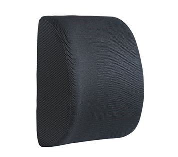 Consumer Shopping Inc 3D Ventilated Mesh Back Support Cushion - Reduces Lower Back Pain, Provides Lumbar Support