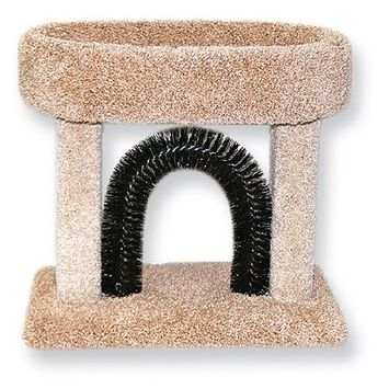 Beatrise Kittle Cradle with Scratching Brush