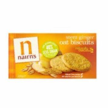 Nairns Oat Cookies Stem Ginger 7.1oz (200g) Case of 6