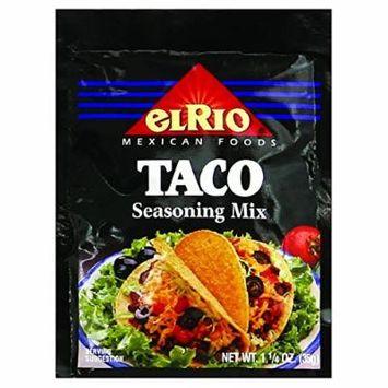 El Rio Seasoning Mix - Taco - 1.25 oz - Case of 20