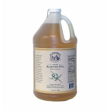 La Tourangelle Artisan Oils Roasted Almond Oil 128 fl oz / 1 gallon size
