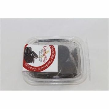 GlutenFreePalace.com Chocolate Sandwich Cookies, 6 Oz. [6 Pack]