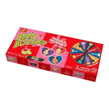Jelly Belly BeanBoozled Love Me or Not Jelly Beans 3.5 oz Spinner Gift Box (4th Edition)