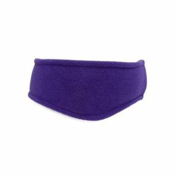 Port Authority - Stretch Fleece Headband, Purple