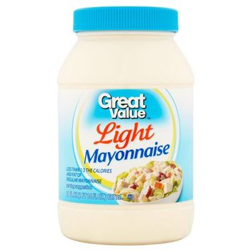 Wal-mart Stores, Inc. Great Value Light Mayonnaise, 30 fl oz