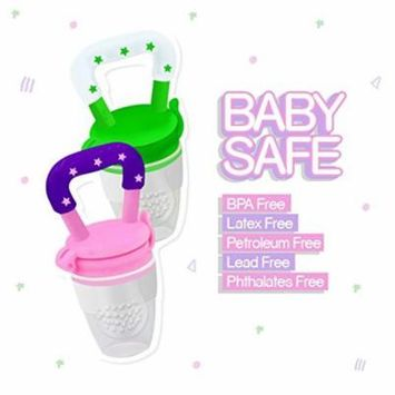 Baby Fruit Feeder Pacifier for over 4 months Kids--S (Random Color)