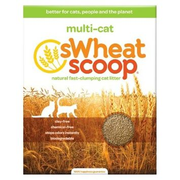 sWheat Scoop All Natural Multi-Cat Litter - 15 lb