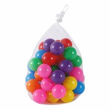 50pcs Colorful Ball Soft Plastic Ball Funny Bath Swim Ball Toy For Baby Kid