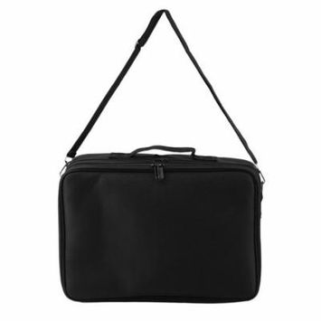 Professional Makeup Bag Cosmetic Case Storage Handle Organizer Travel Kit Portable 2 Colors with Large Capacity