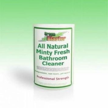 Green Blaster Products GBBSM1G Minty Fresh All Natural Bath & Shower Cleaner 1 Gallon Refill