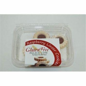 GlutenFreePalace.com Raspberry Linzer Cookies, 6 Oz. [6 Pack]