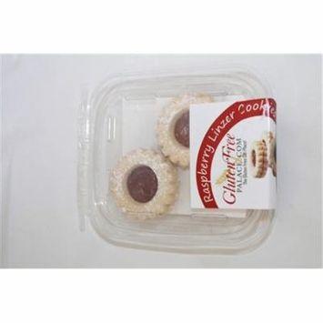 GlutenFreePalace.com Mini Pack Cookies, Raspberry Linzer Cookies, 2 Oz. [2 Pack]