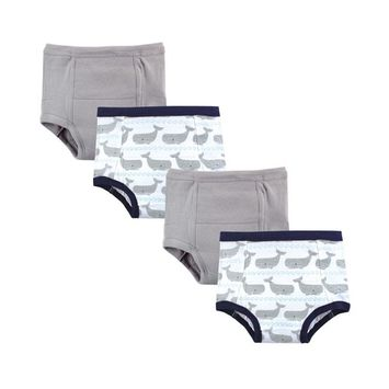 Hudson Baby Unisex Baby Training Pants, 4-Pack, 12 Months - 4T