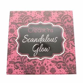 (6 Pack) BEAUTY CREATIONS Scandalous Glow Highlight Palette
