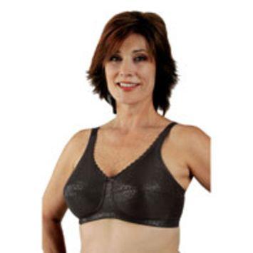 Classique 772E Post Mastectomy Fashion Bra-Black-44C